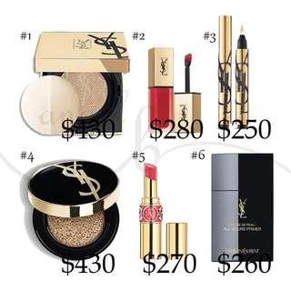 Ysl makeup 代購
