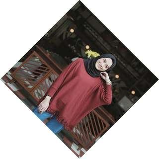 baju cantik yang bisa di pakai buat hijab atau tidak