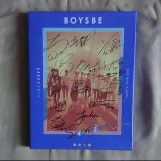 SEVENTEEN BOYS BE HIDE VER (비매 album)