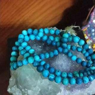 Turquoise Mala From Ladakh