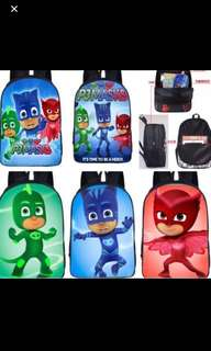PO pj mask Bag 2 size Available brand new ht 33cm-$24.90 ht 42cm -$26.90