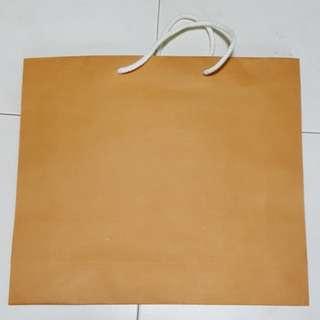 1502 NEW Plain Brown Paper Bag
