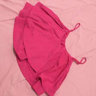 tanktop pink