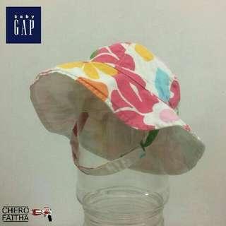 Baby GAP kid multi color bucket hat topi budak