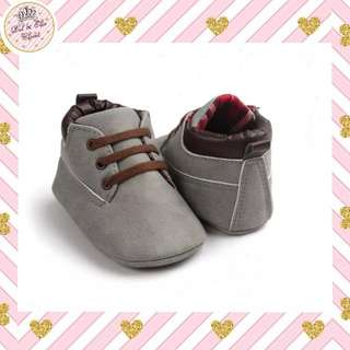 < Instock > Grey Baby Boots