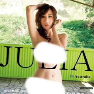JULIA 寫真集「JULIA in Australia」3000部限定珍藏版