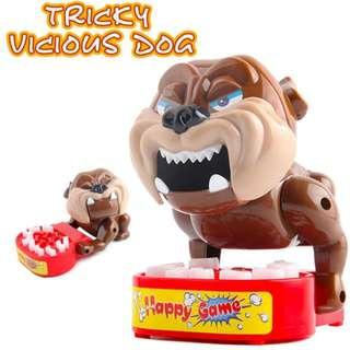 Steal trick finger dog bite