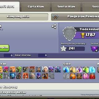 Clash Of Clans 107 lvl for 500RM🔥🔥🔥