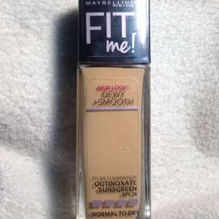 Maybelline FitMe Dewy+Smooth Foundation