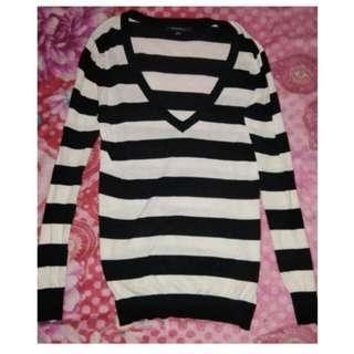 Forever 21 Stripes Pullover