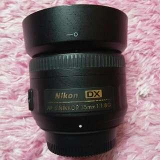 Lens Nikkor 35mm 1.8G