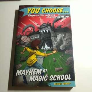 Choose Your Own Adventure Book: Mayhem At Magic School
