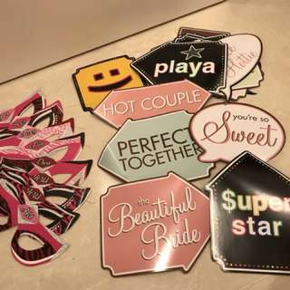 Bachelorette Party Games and Props Set