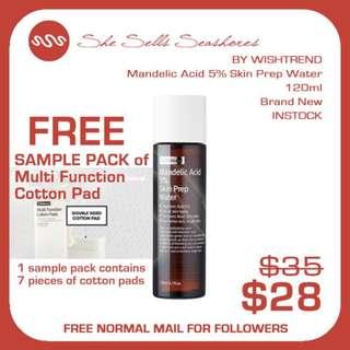 {OOS} BY WISHTREND | Mandelic Acid 5% Skin Prep Water AUTHENTIC