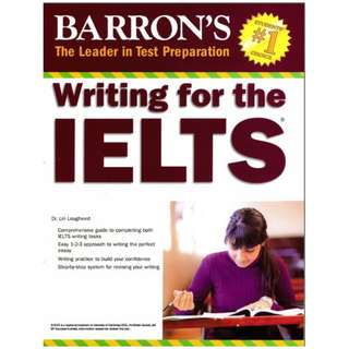 Ebook Barron's Writing For The IELTS