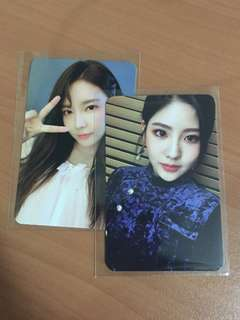 Act 3 Chococo / Act 4 Cait Sith gugudan photocards