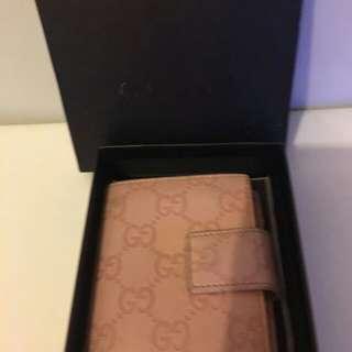 二手Gucci粉紅色銀包