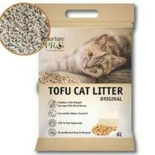 2 Free 1 Nurture Pro Tofu Cat Litter