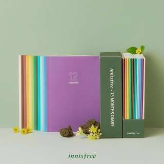 Innisfree 2018 Diary