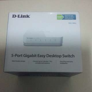 Dlink 5-port Gigabit Easy Desktop Switch