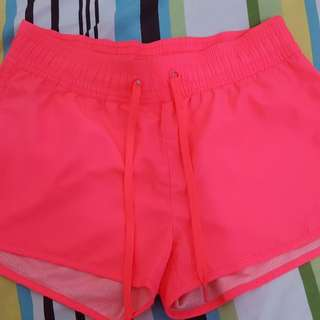 H&M Hot Pink Gym Shorts