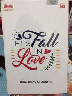 "Novel ""Let's Fall in Love"" by Rina Suryakusuma"