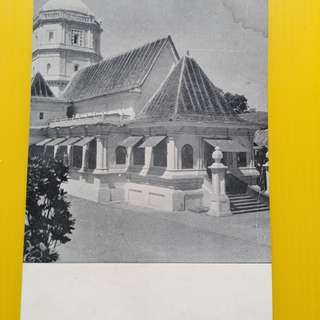 QUEULA , Santa Durga Temple , india - Vintage Unused Post Card - india