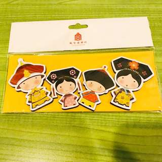 The Royal Family Doll Fridge Magnets from The Palace Museum