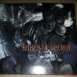 Music CD: Tribes Of Neurot ‎– Silver Blood Transmission - Neurosis Side Project