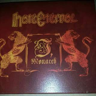 Music CD (Metal): Hate Eternal ‎– I, Monarch - Earache Records