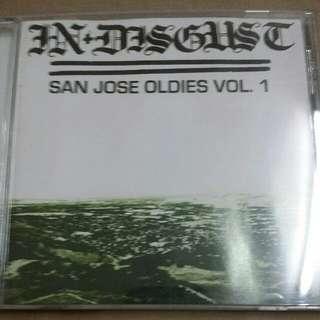 Music CD (Metal, Grindcore): In Disgust–San Jose Oldies Vol.1