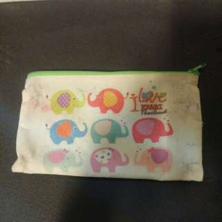 Free Fabric pencil case