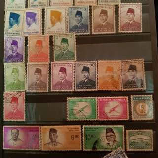 Vintage stamps. Dated back to the 70s.