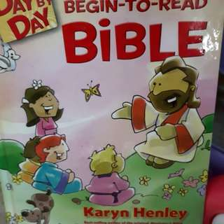 Giving away bible storybook