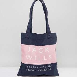 Jackwills tote bag