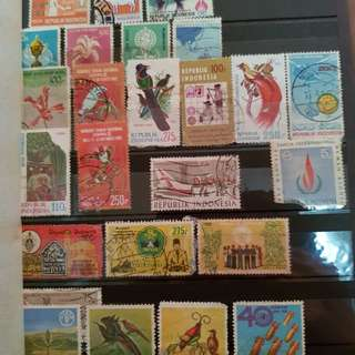 Vintage stamps. Dated back to the 70s