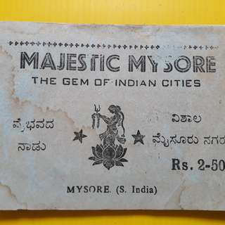 8 PHOTOS LOT - india Karnataka Mysore State Vintage Photos ( some photos are missing )