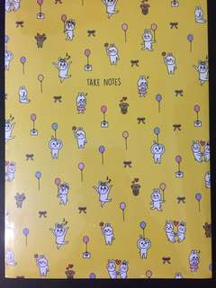 brand new note book