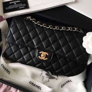 AUTHENTIC Medium Flap Chanel Bag