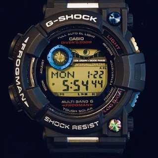 parts only! 配件 前釘 藍 幻彩 G-Shock parts GWF-1000 Frogman 蛙人用
