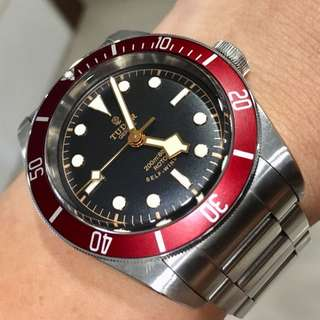 Tudor black bay 79220r rose