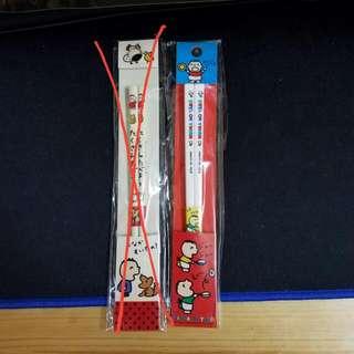 Sanrio 1990年 大口仔 兒童筷子