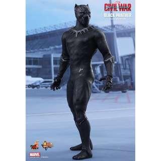 "Hot Toys ""Captain America: Civil War"" Black Panther"