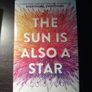 [New Copy] The Sun Is Also A Star