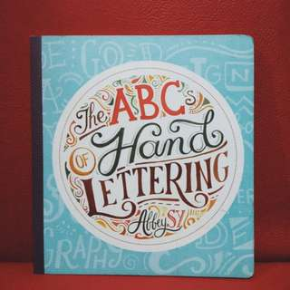 Book for lettering