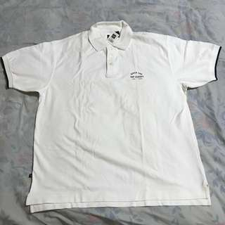 Gap White Polo Shirt (L)