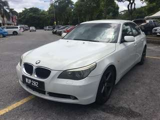 BMW E60 525i Yr2004/2005 Well maintain by pervious owner Price Rm36,880.00 Cash Deal Only Fast Deal & Approval Trade in accept