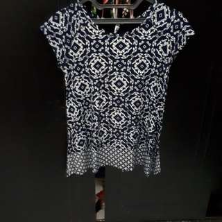 WOMAN AZTEC TOP