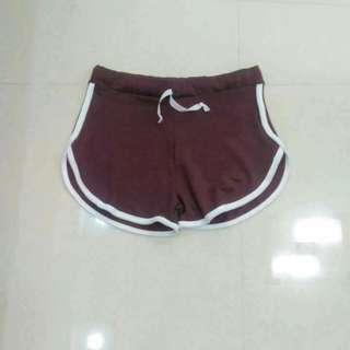 Doplhin shorts(gray, black & maroon)