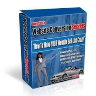 Website Conversion Secrets: How To Make Your Website Sell Like Crazy! eBook
